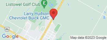 Google Map of 1000+Wallace+Avenue+North%2CListowel%2COntario+N4W+1M5
