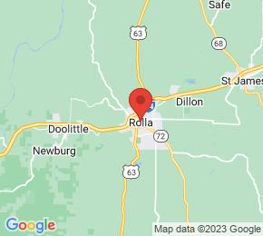 Job Map - 1000 West 10th Street Rolla, Missouri 65401 US