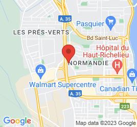 Google Map of 1000+rue+douglas%2CSaint-jean-sur-richelieu%2CQuebec+j3a+1v1