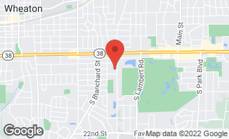 Map of 1000 South Lorraine Road #504 WHEATON, IL 60189
