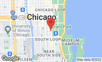 Map of 1000 South Michigan Avenue #2203 Chicago, IL 60605
