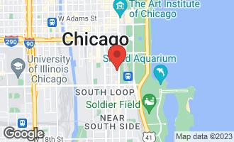 Map of 1000 South Michigan Avenue #3203 CHICAGO, IL 60605