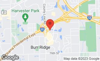 Map of 1000 Village Center Drive #108 BURR RIDGE, IL 60527