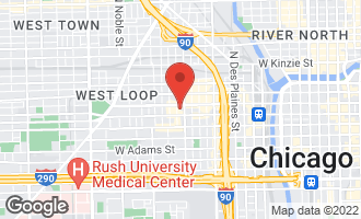 Map of 1000 West Washington Boulevard #411 CHICAGO, IL 60607