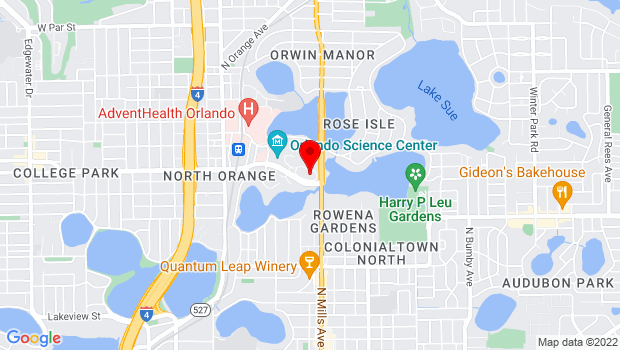 Google Map of 1001 E. Princeton St, Orlando, FL 32803