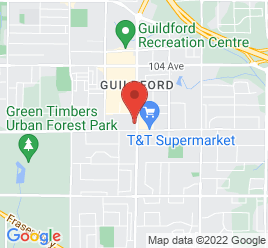 Google Map of 10025-152+Street%2CSurrey%2CBritish+Columbia+V3R+4G6