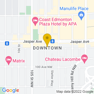 Map to The Cask and Barrel provided by Google