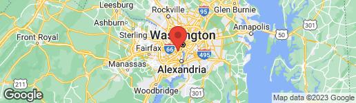 Map of 1009 QUEEN STREET S ARLINGTON, VA 22204