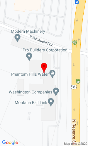 Google Map of Modern Machinery 101 International Drive, Missoula, MT, 59808