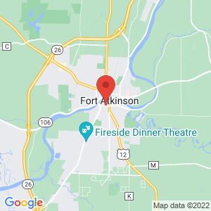 Fort Atkinson Police Jail location on map