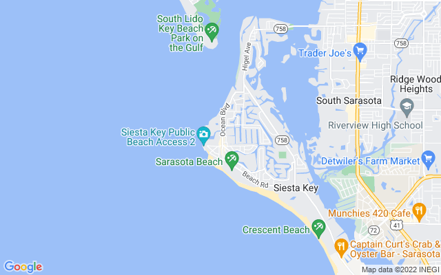101 Whispering Sands Dr #201 Sarasota Florida 34242 locatior map