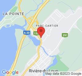 Google Map of 101%2C+Boulevard+Cartier%2CRiviere-du-Loup%2CQuebec+G5R+2N3