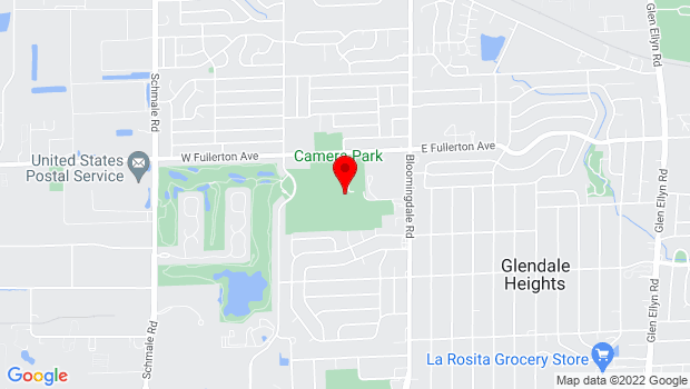 Google Map of 101 Fullerton Avenue, Glendale Heights, IL 60139