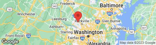 Map of 101 MIDSUMMER DRIVE GAITHERSBURG, MD 20878