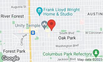 Map of 101 North Euclid Avenue #12 OAK PARK, IL 60301