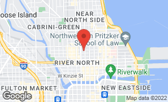 Map of 101 West Superior Street #1102 CHICAGO, IL 60654