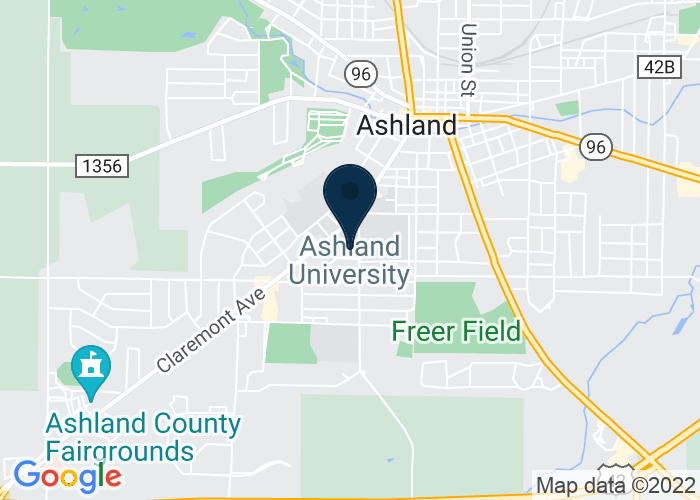 Map of 1010 King Rd., Ashland, OH 44805, United States
