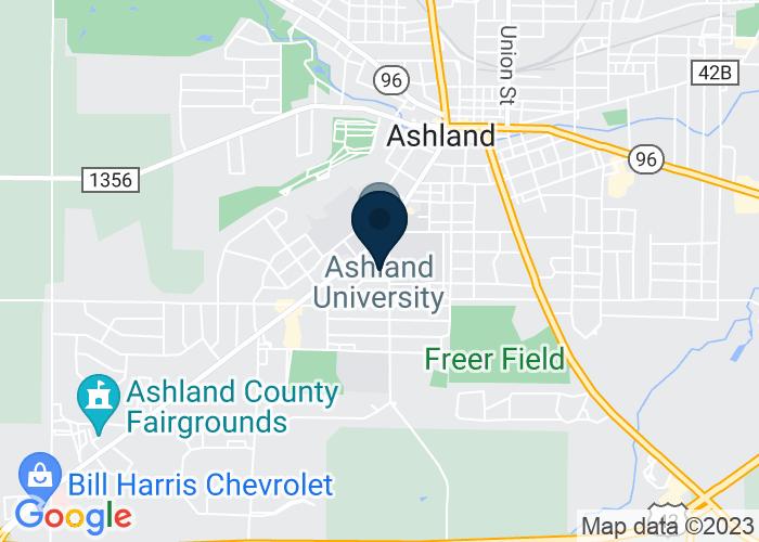 Map of 1010 King Rd., Ashland, OH 44805, United States