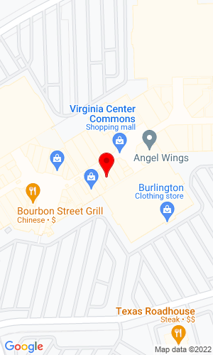Google Map of Dixons Auction 10101 Brook Rd suite 680, Glen Allen, VA, 23059