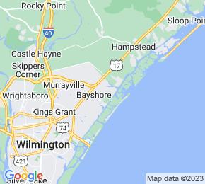 Job Map - 1011 PORTERS NECK RD Whiteville, North Carolina 28411 US