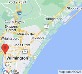 Job Map - 1011 PORTERS NECK RD Wilmington, North Carolina 28411 US