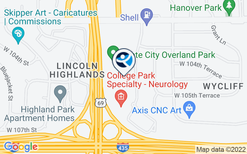 Valley Hope of Overland Park Location and Directions
