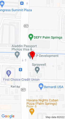 Google Map of Discount Rental & Sales 1014 South Congress Avenue, West Palm Beach, FL, 33406