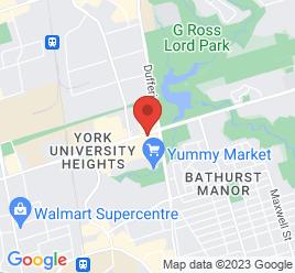 Google Map of 1017+Finch+Avenue+West%2CToronto%2COntario+M3J+2C7