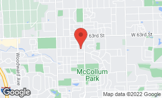 Map of 1019 Norfolk Street DOWNERS GROVE, IL 60516