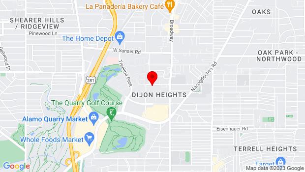 Google Map of 102 Lorenz Rd., San Antonio, TX 78209