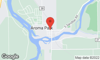 Map of 102 North Mill Street Aroma Park, IL 60910