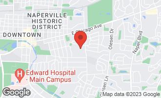 Map of 1020 East Porter Avenue NAPERVILLE, IL 60540