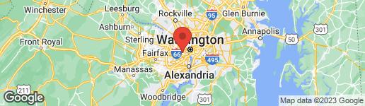 Map of 1020 HIGHLAND STREET N #813 ARLINGTON, VA 22201