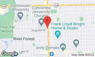Map of 1020 North Harlem Avenue 3D RIVER FOREST, IL 60305