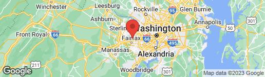 Map of 10204 WALKERTON LANE OAKTON, VA 22124