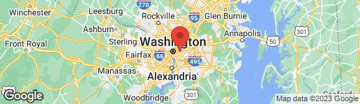 Map of 1021 17TH STREET NE #2 WASHINGTON, DC 20002