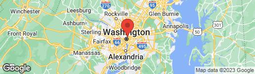 Map of 1021 EUCLID STREET NW WASHINGTON, DC 20001