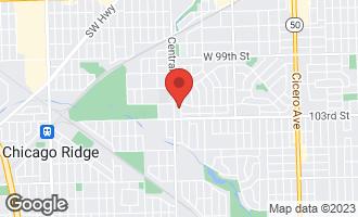 Map of 10210 Washington Avenue #205 OAK LAWN, IL 60453