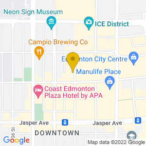Map to Evolution Wonderlounge provided by Google