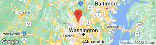 Map of 1024 CRAWFORD DRIVE ROCKVILLE, MD 20851