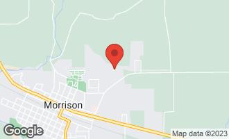 Map of 1024 Hilltop Drive MORRISON, IL 61270