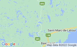Map of Camping Lac aux Pins