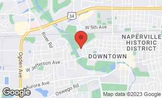 Map of 1025 Douglas Avenue NAPERVILLE, IL 60540
