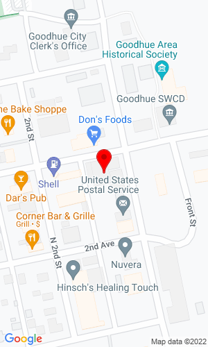 Google Map of Lodermeier's Tractor 103 3rd Avenue, Goodhue, MN, 55027
