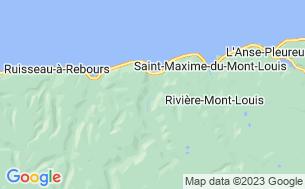 Map of Camping Municipal Mont-Saint-Pierre