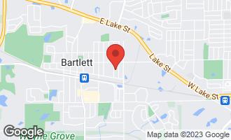 Map of 103 Daniel Court C BARTLETT, IL 60103