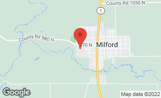 Map of 103 Geddes Street MILFORD, IL 60953