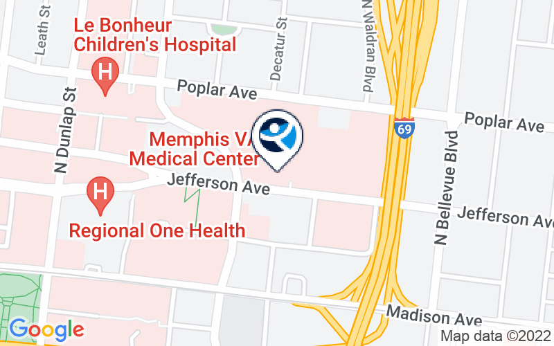 Memphis VA Medical Center Location and Directions