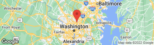 Map of 10310 PARKMAN ROAD SILVER SPRING, MD 20903