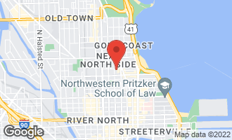 Map of 1035 North Dearborn Street 14W CHICAGO, IL 60610